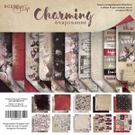 Набор двусторонней бумаги 30х30см от Scrapmir Charming (Очарование) 10шт