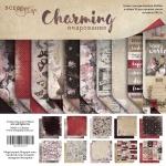 Набор двусторонней бумаги 20х20см от Scrapmir Charming (Очарование) 10шт