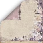 Лист двусторонней бумаги 30x30 от Scrapmir Романтика из коллекции Charming (Очарование) 10шт