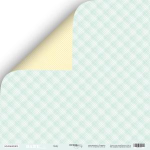 Лист двусторонней бумаги 30x30 от Scrapmir Baby из коллекции Smile Baby 10шт