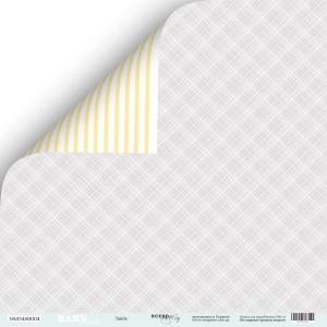 Лист двусторонней бумаги 30x30 от Scrapmir Smile из коллекции Smile Baby 10шт