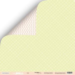Лист двусторонней бумаги 30x30 от Scrapmir Doll из коллекции Doll Baby 10шт