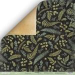 Лист двусторонней бумаги 30x30 от Scrapmir Папоротник из коллекции Cozy Forest 10шт