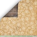 Лист двусторонней бумаги 30x30 от Scrapmir Стебли из коллекции Cozy Forest 10шт