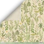 Лист двусторонней бумаги 30x30 от Scrapmir Лесные травы из коллекции Cozy Forest 10шт