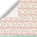 Лист двусторонней бумаги 30x30 от Scrapmir Лошадки из коллекции Happy Days 10шт