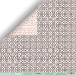 Лист двусторонней бумаги 30x30 от Scrapmir Цветочный узор из коллекции Happy Days 10шт