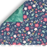 Лист двусторонней бумаги 30x30 от Scrapmir Цветочная феерия из коллекции Summer 10шт