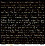 Лист односторонней бумаги с золотым тиснением 30x30 Golden Script Black от Scrapmir Every Day Gold 10шт.