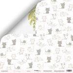 Лист двусторонней бумаги 30x30 от Scrapmir Котята из коллекции Pur Pur 10шт