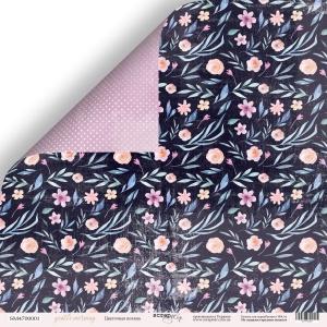 Лист двусторонней бумаги 30x30 от Scrapmir Цветочная поляна из коллекции Gentle Morning 10шт