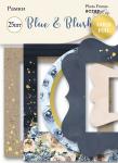 Рамки для фотографий с золотым фольгированием 25 шт от Scrapmir Blue & Blush