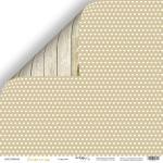 Лист двусторонней бумаги 30x30 от Scrapmir Сердечки из коллекции Tenderness 10шт
