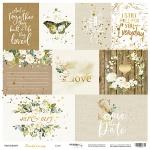 Лист односторонней бумаги 30x30 от Scrapmir Card из коллекции Tenderness 10шт