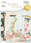 Рамки для фотографий с золотым фольгированием 25 шт от Scrapmir Peaches & Cream