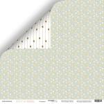 Лист двусторонней бумаги 30x30 от Scrapmir Ромашка из коллекции Boy or Girl 10шт