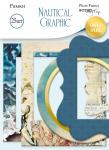 Рамки для фотографий с золотым фольгированием 25 шт от Scrapmir Nautical Graphic