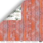 Лист двусторонней бумаги 30x30 от Scrapmir Зимний Лес из коллекции Merry Christmas 10шт