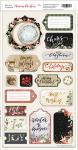 Чипборд для скрапбукинга 18шт от Scrapmir Merry Christmas (ENG)