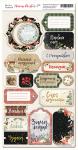 Чипборд для скрапбукинга 18шт от Scrapmir Merry Christmas (RU)