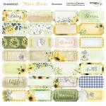 Лист двусторонней бумаги 20х20см Билетики Mice's Stories от Scrapmir 10шт