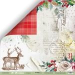Лист двусторонней бумаги 30х30см Подарки от Scrapmir Art Christmas 10шт