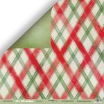 Лист двусторонней бумаги 30х30см Карамель от Scrapmir Art Christmas 10шт
