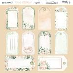 Лист двусторонней бумаги 20х20см Tag-Pad Pink Childhood от Scrapmir 10шт