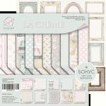 Набор двусторонней бумаги 20х20см от Scrapmir La Creme 10шт.