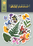 Набор высечек для скрапбукинга 90шт от Scrapmir Herbarium Wild summer Плотность 250г/м