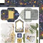Лист двусторонней бумаги 20х20см Конверты Herbarium Wild summer от Scrapmir 10шт