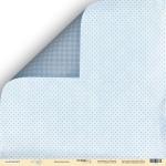 Лист двусторонней бумаги 30x30 от Scrapmir Звёздная ночь из коллекции Little Bear 10шт