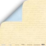 Лист двусторонней бумаги 30x30 от Scrapmir Колыбельная из коллекции Little Bear 10шт