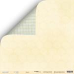 Лист двусторонней бумаги 30x30 от Scrapmir Дамаск из коллекции Little Bear 10шт