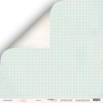 Лист двусторонней бумаги 30x30 от Scrapmir Счастье из коллекции Little Bunny 10шт
