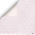 Лист двусторонней бумаги 30x30 от Scrapmir Лиловые сны из коллекции Little Bunny 10шт