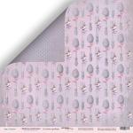 Лист двусторонней бумаги 30x30 от Scrapmir Столовые приборы из коллекции  Delicious Recipes 10шт