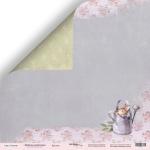 Лист двусторонней бумаги 30x30 от Scrapmir Кролик из коллекции  Delicious Recipes 10шт