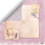 Лист двусторонней бумаги 30x30 от Scrapmir Кондитер из коллекции  Delicious Recipes 10шт