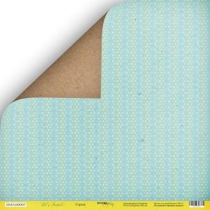 Лист двусторонней бумаги 30x30 от Scrapmir Страна из коллекции Let's Travel 10шт